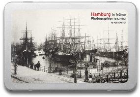 Postkartenbox «Hamburg vor 100 Jahren»
