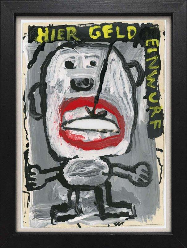 "TINY ART, OZ-Nr. 89: ""Hier Geld Einwurf"""