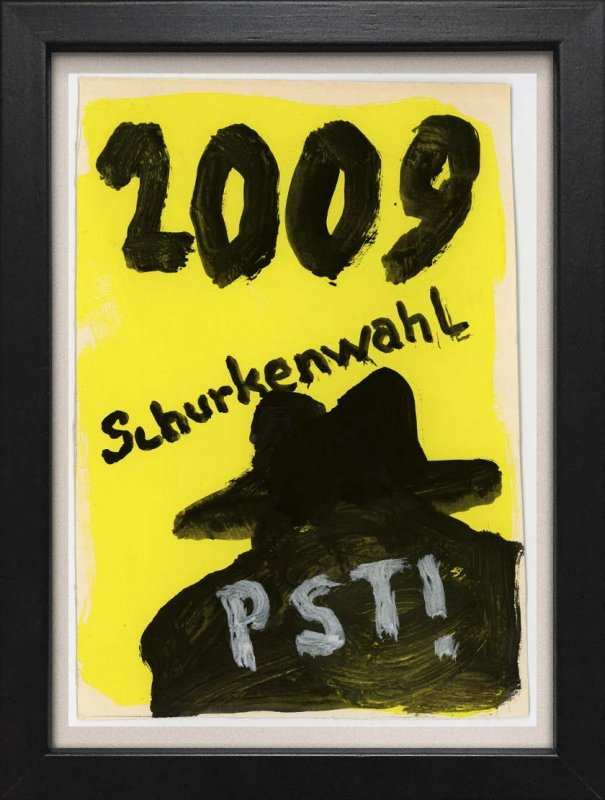 "TINY ART, OZ-Nr. 129: ""Schurkenwahl 2009"""
