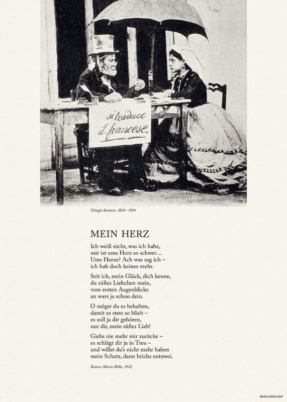Mein Herz, Rainer Maria Rilke