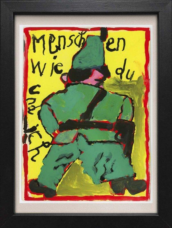 """TINY ART, OZ-Nr. 121: """"Menschen wie Du und ich"""""""