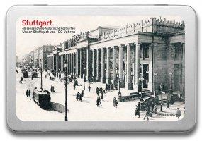 Postkartenbox «Stuttgart vor 100 Jahren»
