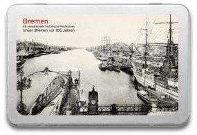 Postkartenbox «Bremen vor 100 Jahren»
