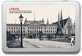 Postkartenbox «Leipzig vor 100 Jahren»