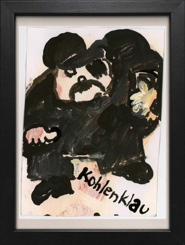 "TINY ART, OZ-Nr. 28: ""Kohlenklau"""