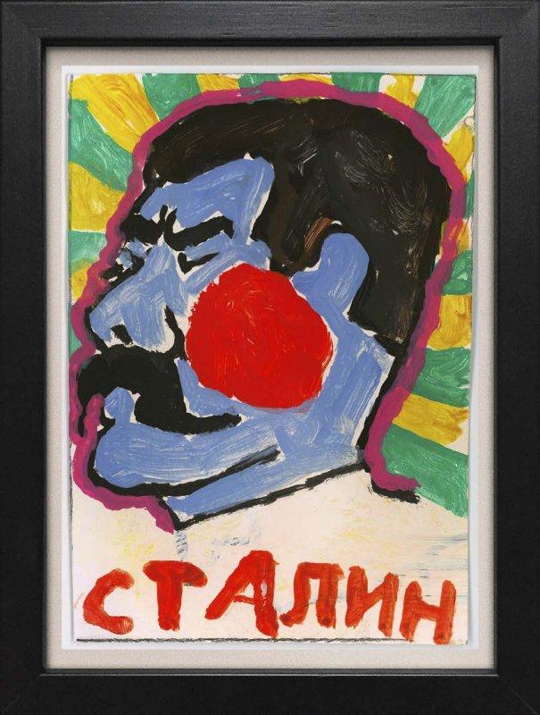 "TINY ART, OZ-Nr. 31: ""Stalin"""