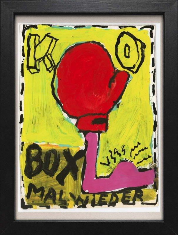 """TINY ART, OZ-Nr. 33: """"K.O. - Box mal wieder"""""""