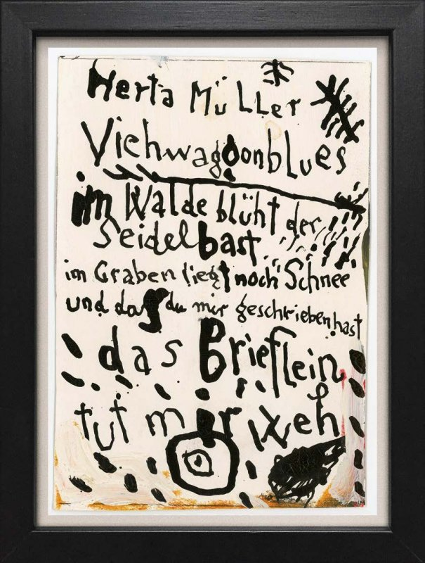 "TINY ART, OZ-Nr. 12: ""Herta Müller"""