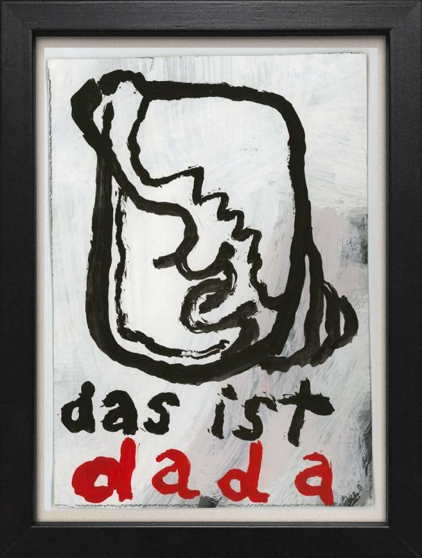 "TINY ART, OZ-Nr. 95: ""Das ist Dada"""