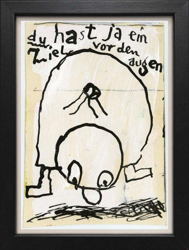 """TINY ART, OZ-Nr. 108: """"Ziel vor den Augen"""""""