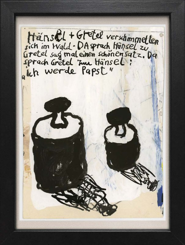 "TINY ART, OZ-Nr. 72: ""Hänsel + Gretel"""