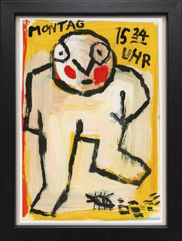 "TINY ART, OZ-Nr. 48: ""Montag 15:34 Uhr"""
