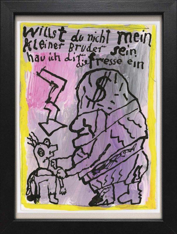 "TINY ART, OZ-Nr. 36: ""kleiner Bruder"""