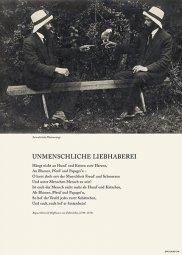 Unmenschliche Liebhaberei, Hoffmann von Fallersleben