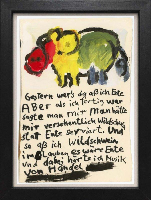 """TINY ART, OZ-Nr. 63: """"..aß ich Ente"""""""