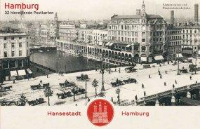 Postkartenbox «Hamburg – 32 hinreißende Postkarten»