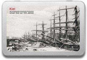 Postkartenbox «Kiel vor 100 Jahren»