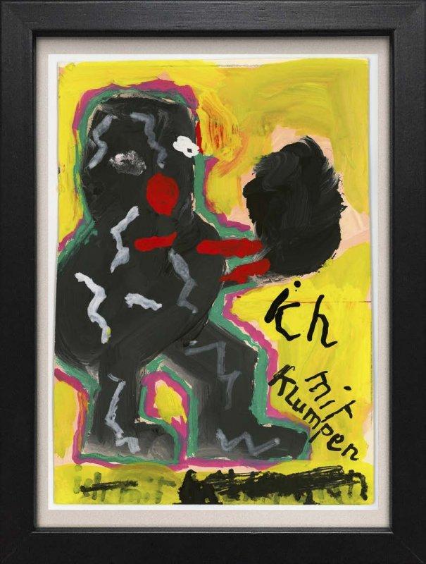 """TINY ART, OZ-Nr. 118: """"Ich mit Klumpen"""""""