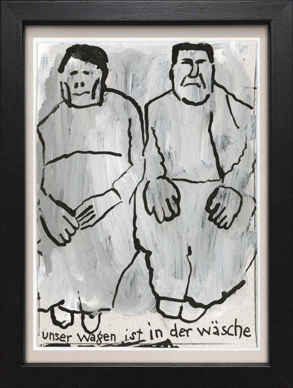 "TINY ART, OZ-Nr. 87: ""Unser Wagen.."""