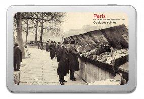 Postkartenbox «Paris - Quelques scènes»