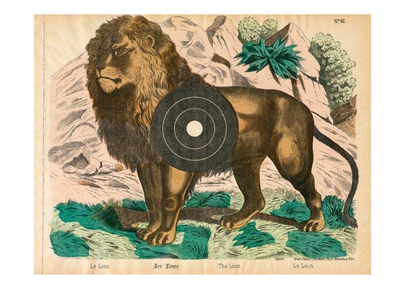 Zielscheibe – Löwe