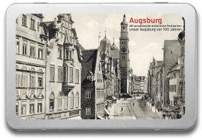 Postkartenbox «Augsburg vor 100 Jahren»