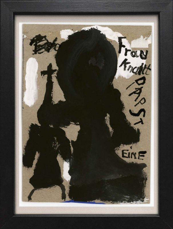"TINY ART, OZ-Nr. 07: ""Frau knallt Papst eine"""