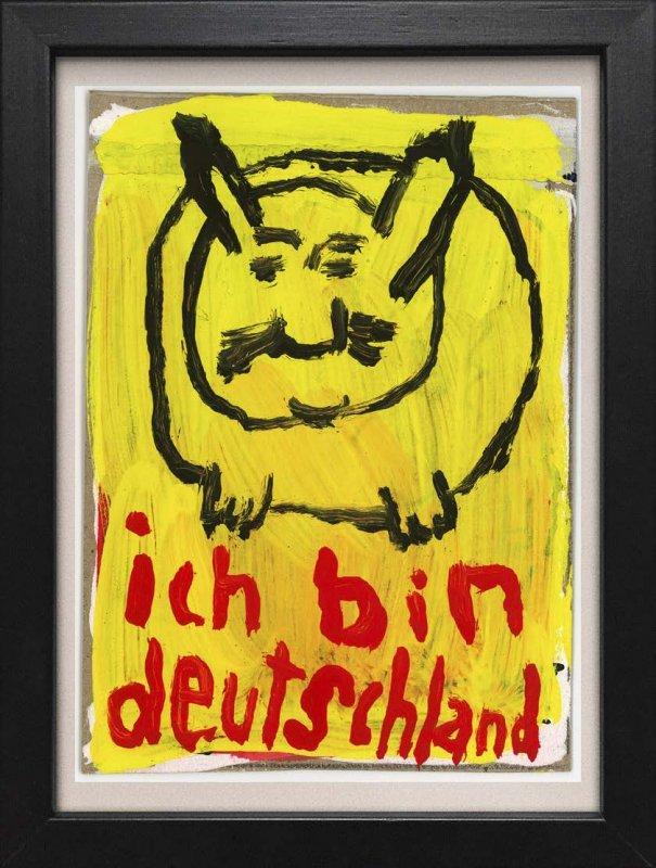 """TINY ART, OZ-Nr. 60: """"Ich bin Deutschland"""""""