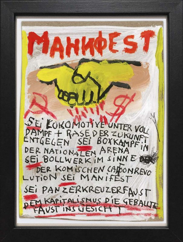 "TINY ART, OZ-Nr. 98: ""Manifest"""