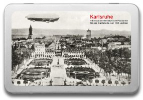 Postkartenbox «Karlsruhe vor 100 Jahren»