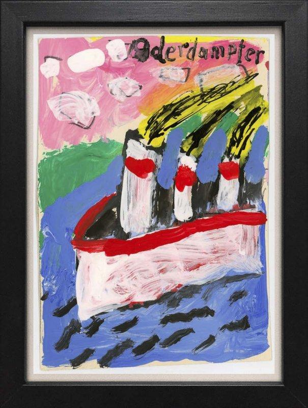 "TINY ART, OZ-Nr. 45: ""Oderdampfer"""