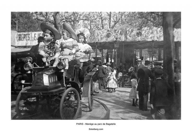 Devanture Paris - Manège