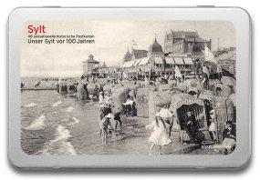 Postkartenbox «Sylt vor 100 Jahren»