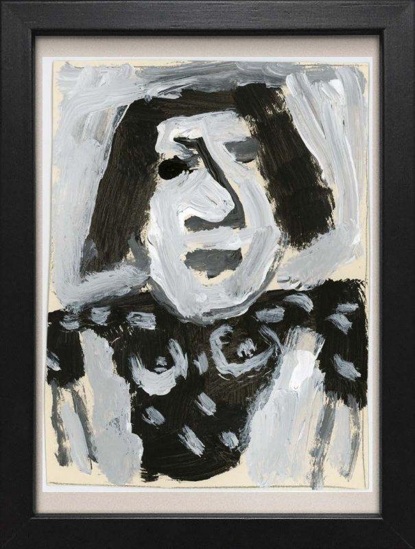 TINY ART, OZ-Nr. 70: Frau m.gehobenen Armen
