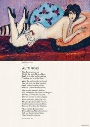 Alte Rose, Heinrich Heine