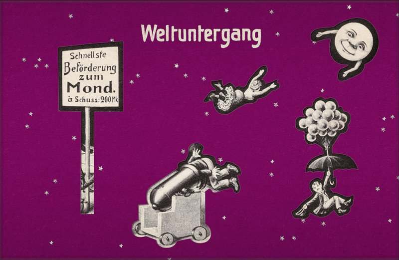 Weltuntergang-Postkarten – Sonderverkauf!
