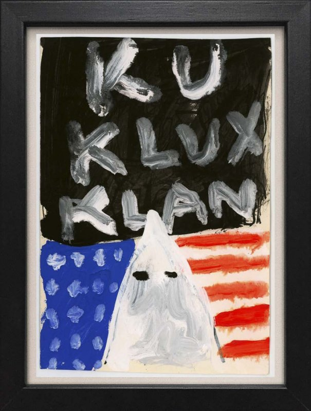 "TINY ART, OZ-Nr. 101: ""Ku Klux Klan"""