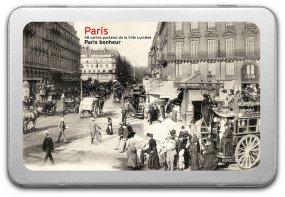 Postkartenbox «Paris bonheur»