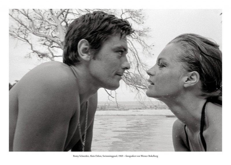 Romy Schneider, Alain Delon, Swimmingpool, 1969