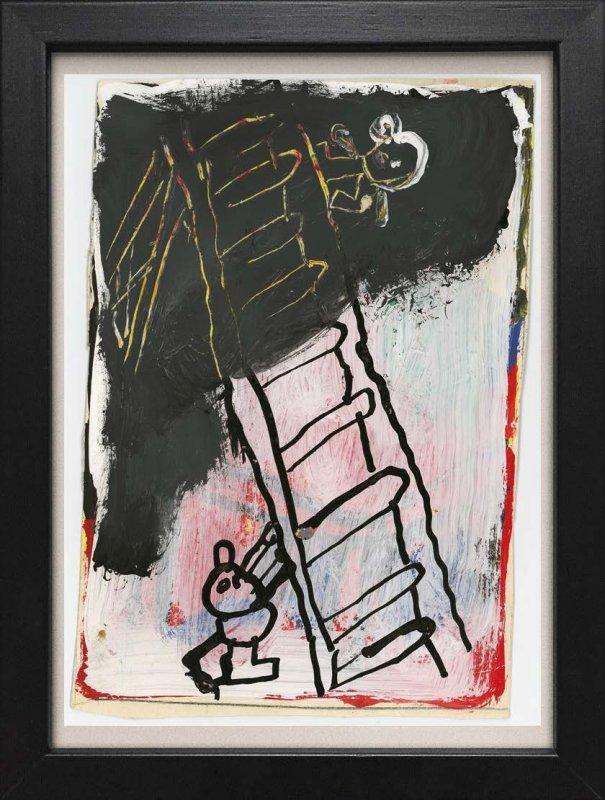TINY ART, OZ-Nr. 122: Leiter mit 2 Figuren