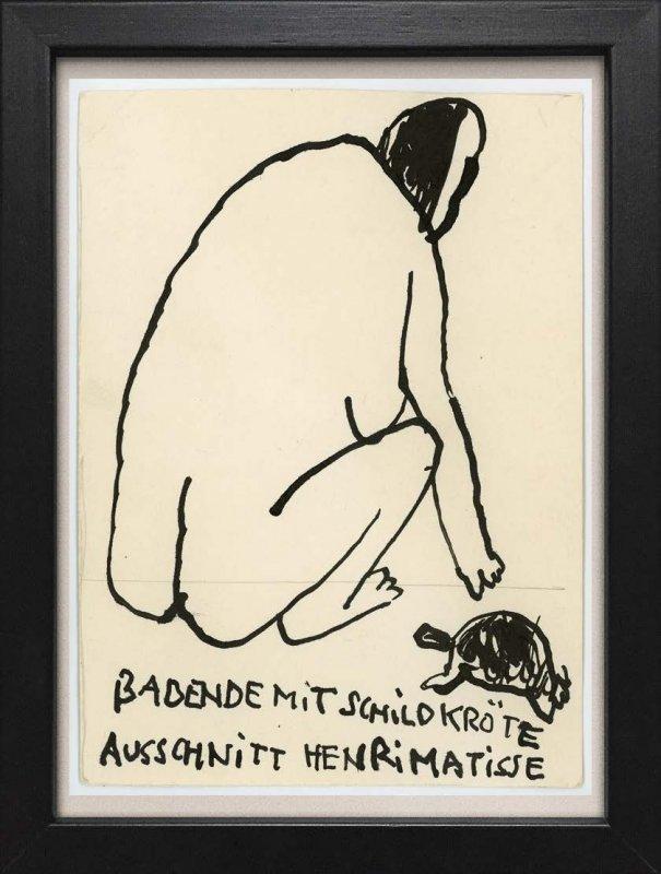 "TINY ART, OZ-Nr. 123: ""Badende/ Matisse"""