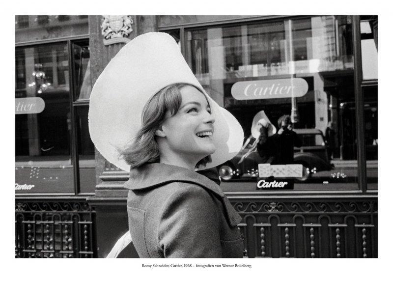 Romy Schneider, Cartier, 1968