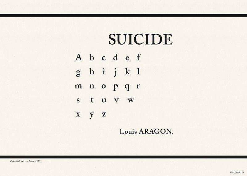 Suicide, Louis Aragon