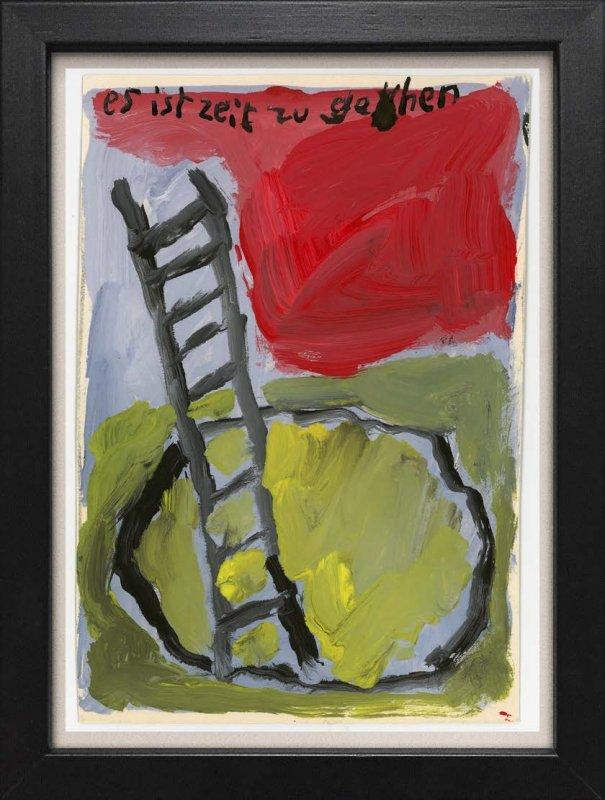 """TINY ART, OZ-Nr. 109: """"Zeit zu gehen"""""""