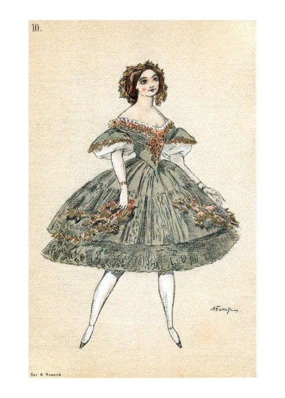 10. Costume du corps de ballet