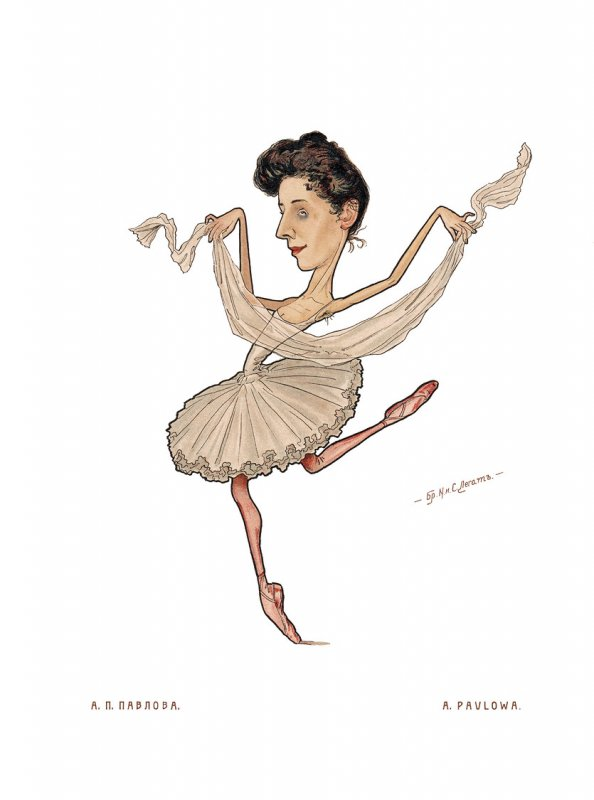 Ballett – Pavlowa, A.