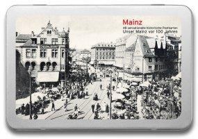 Postkartenbox «Mainz vor 100 Jahren»