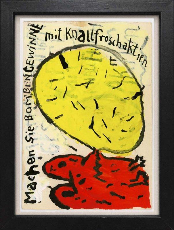 """TINY ART, OZ-Nr. 30: """"Knallfroschaktien"""""""
