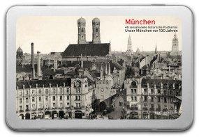 Postkartenbox «München vor 100 Jahren»